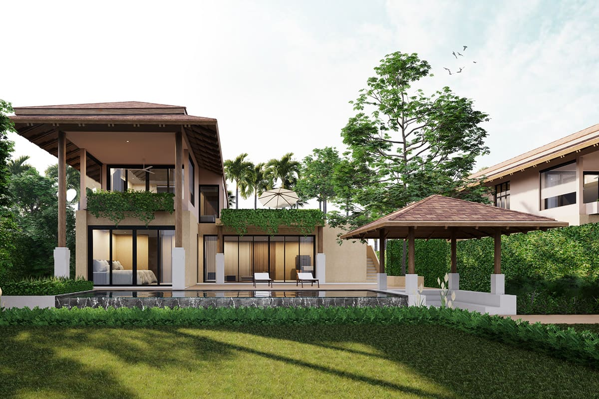 Sea View Three-Bedroom Pool Villa